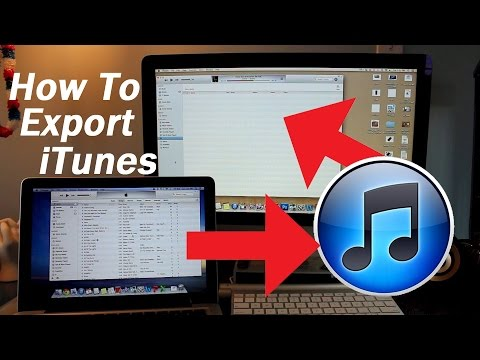 How To Transfer iTunes Library From One Computer to Another | Export Copy Songs Videos Apps New Mac
