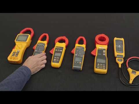 Las 7 mejores pinzas amperimétricas de Fluke para aplicaciones industriales