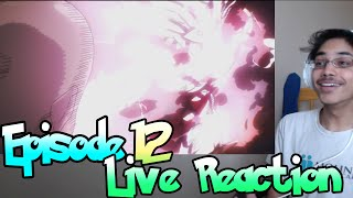 One Punch Man [Episode 12] Live Reaction - YOU FUCKIN WIT THA GAWD NOW