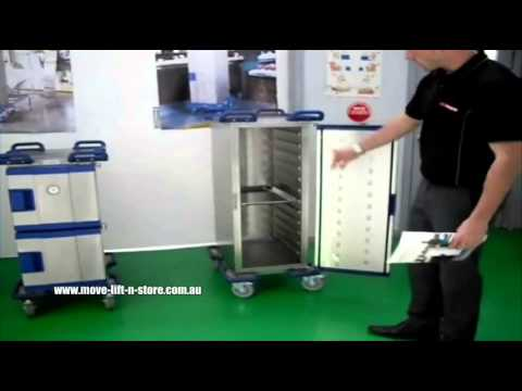 Spacepac Food Trolleys / Racks