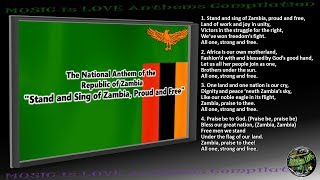 Zambia National Anthem INSTRUMENTAL with lyrics