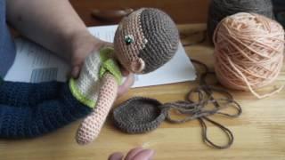 My Little Crochet Doll 1 Starting The Head
