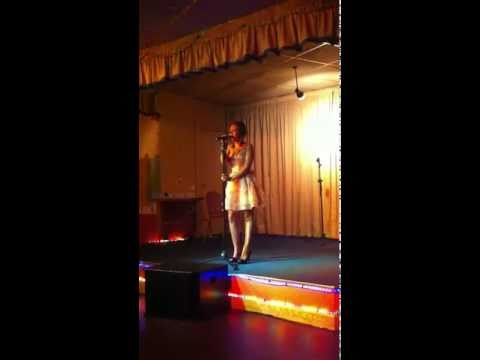 """Leah Fox """"I wanna no what love is"""" Welsh Factor 2011."""