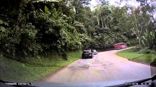 preview picture of video 'Drive from Tapah to Lakehouse, Ringlet, Cameron Highlands'