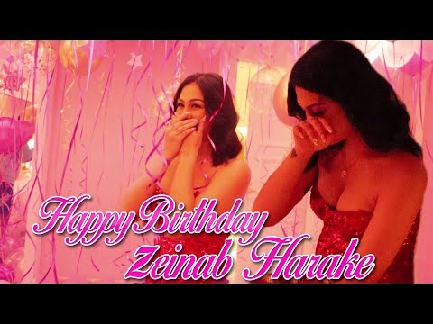 HAPPY BIRTHDAY ZEINAB HARAKE