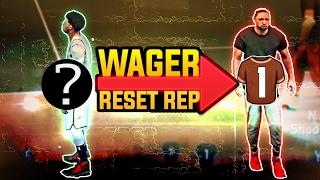 MASSIVE 1v1 - LOSER RESETS REP in NBA 2K17