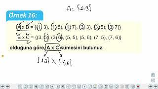 Eğitim Vadisi TYT Matematik 37.Föy Kümeler (Kartezyen Çarpım) Konu Anlatım Videoları