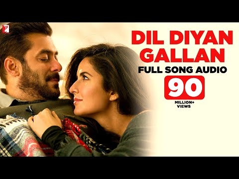 Download Dil Diyan Gallan - Full Song Audio | Tiger Zinda Hai | Atif Aslam | Vishal and Shekhar HD Mp4 3GP Video and MP3