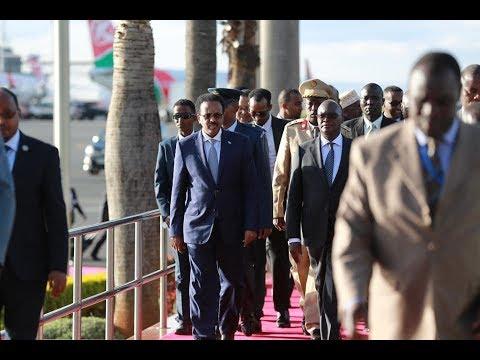 DAAWO Sidee Farmaajo loogu soo dhoweeyay Nairobi + Ujeedka Safarka