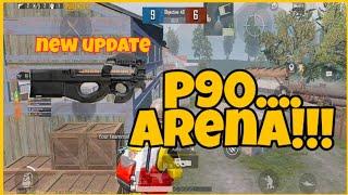 Test senjata baru... new update pubg mobile.. version 0.18.0