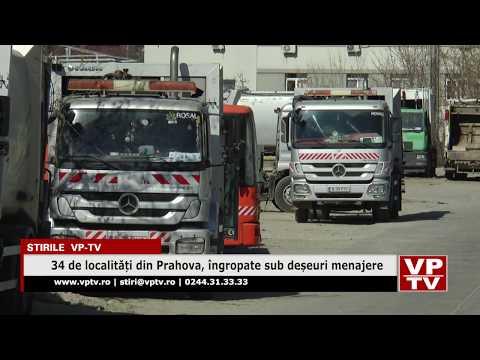 34 de localități din Prahova, îngropate sub deșeuri menajere