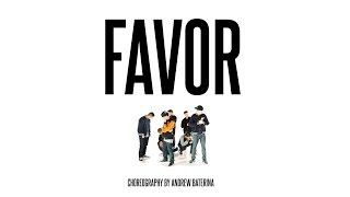Andrew Baterina Choreography | FAVOR by @chrisbrown Chris Brown