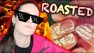 ROASTING MY SUBSCRIBERS NAILS