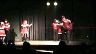 preview picture of video 'Bailes de Salon Alovera 2010 Festival de Navidad. Jingle Bells Swing'