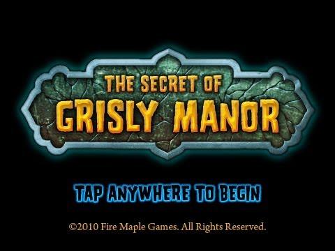 The Secret of Grisly Manor - Full Walkthrough Guide