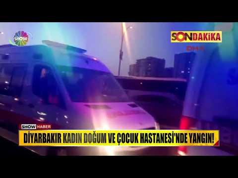 Diyarbakır Kadın Doğum ve Çocuk Hastanesi'nde yangın!