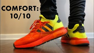 ADIDAS GIFTED ME The MOST COMFORTABLE BOOST Sneakers! ZX 2K BOOST!