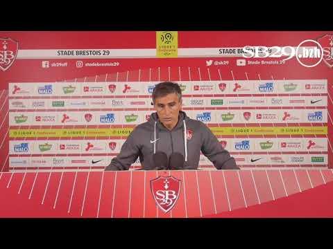 CDL   Metz - Brest   Conférence de presse d'avant-match