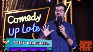 EIC: Azeem Banatwalla at Melbourne International Comedy Festival 2018 | Comedy Up Late