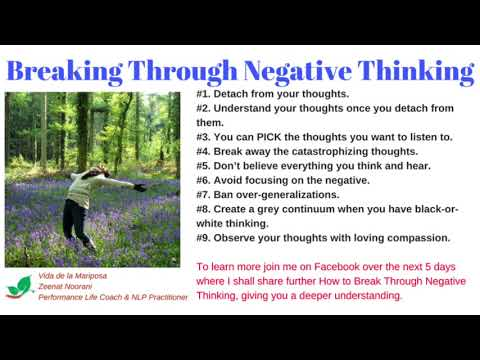 Break Through Negative Thinking