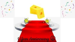 1 Year Anniversary   SuperbSponge
