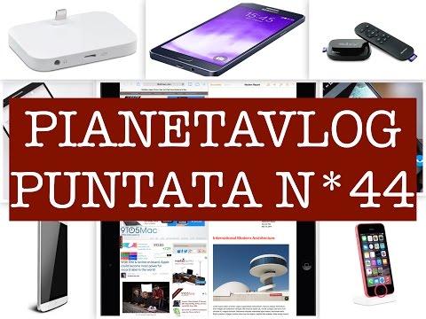 Foto PianetaVlog 44: Apple iPhone 5Cs, Elephone P8000, Galaxy A8, Sky TV Box, IOS9, LG G3