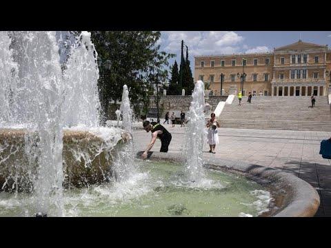 Καύσωνας διαρκείας στην Ελλάδα