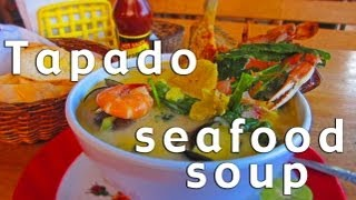 preview picture of video 'Tapado Seafood Soup - The Best in the World!'