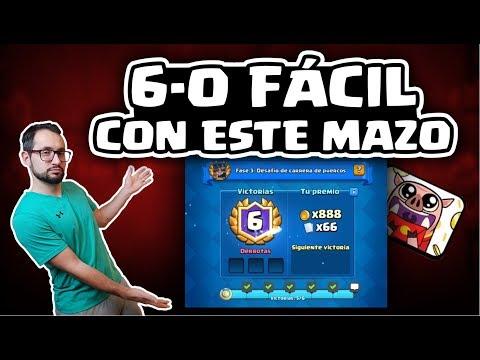 ¡6-0 FÁCIL EN EL DESAFÍO DEL CERDO CON ESTE MAZO!   Malcaide Clash Royale