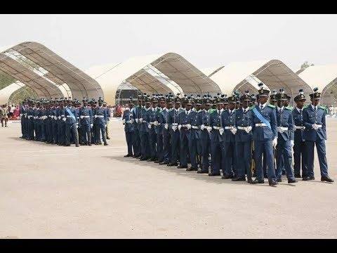 Cadets of NAF Direct Short Service course 27/2017 completes training, commissioned as officers