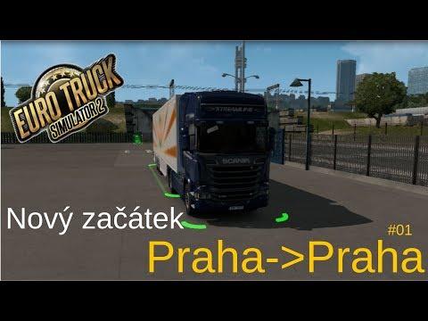 PRAHA ► PRAHA | EURO TRUCK SIMULATOR 2 | e04#01 CZ/SK