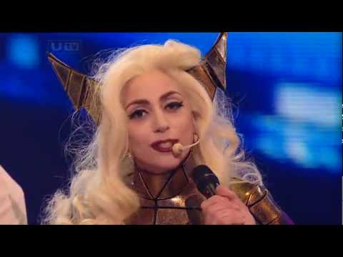 [HQ] Lady GaGa - Bad Romance [Live @ X Factor 2009] Intro & Interview