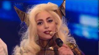 [HQ] Lady GaGa   Bad Romance [Live @ X Factor 2009] Intro & Interview