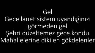 Şanışer - Gel Lyrics (sözleri)