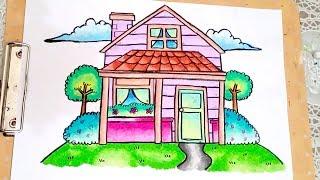 Cara Gradasi Warna Dengan Crayon Faber Castell म फ त