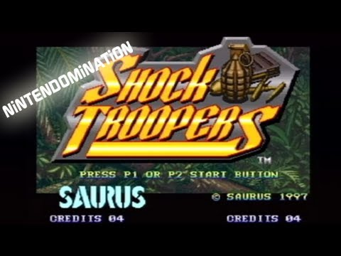 Virtual Console - Shock Troopers - Trailer thumbnail