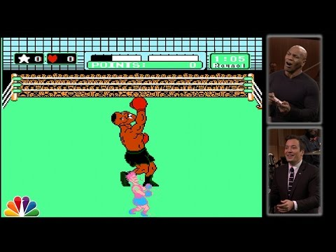 Not Even Mike Tyson Can Beat Mike Tyson In Punch-Out!!