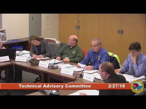 Technical Advisory Committee 2.27.2018
