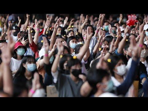 Ταϊλάνδη: Μαθητική διαμαρτυρία για αλλαγές στην παιδεία και την εξουσία…