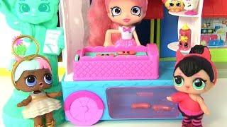 Куклы Лол #LOL Surprise Сюрпризы ЛОЛ #Видео для детей! Путешествие по Америке! Шопкинс и пупсы ЛОЛ