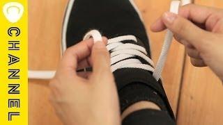スニーカーの靴紐の結び方アレンジ3パターン|C CHANNELファッション