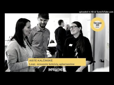 """The Lean CEO"" podkastas: apie Lean patirtis klientų aptarnavime oro uoste"
