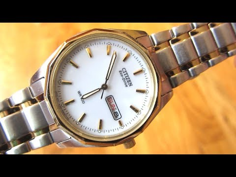Citizen Eco-Drive - 8 year Review | Model BM8434-58A | Solar Two Toned