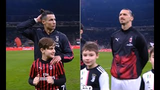 ZLATAN vs CRISTIANO | Milan 1-1 Juventus | 2019-20 Coppa Italia Semifinale Andata