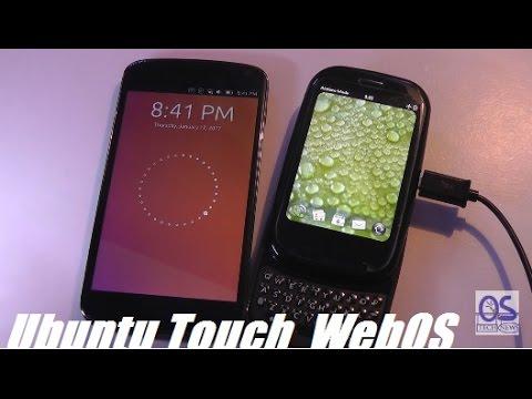 Comparison: Ubuntu Touch OS versus WebOS (Palm, HP)