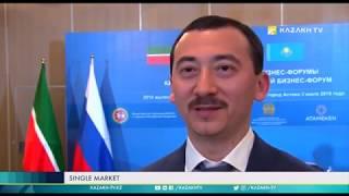 Казахстан - Россия: связи в формате страна - регион