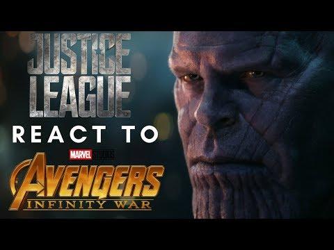 DC「正義聯盟」成員對【復仇者聯盟3】結局的反應是...