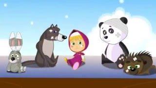 fb5c3c53980 μασα και η αρκουδα παιδικά τραγούδια στα ελληνικα - 5 μαιμουδάκια πάνω στο  κρεβάτι