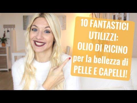 10 FANTASTICI UTILIZZI DELL' OLIO DI RICINO per PELLE E CAPELLI PERFETTI!