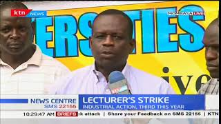 Lecturers demand implementation of the 2014/2017 CBA by the government